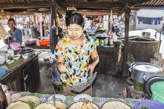Noodle shop Stock Photo