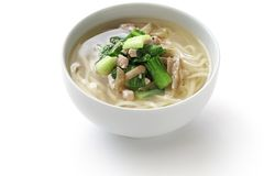 Zha cai rou si mian, chinese noodle dish Stock Images