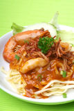 Noodle with shrimp Royalty Free Stock Images