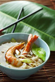 Noodle shrimps Royalty Free Stock Photos