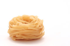 Noodle, side view Stock Photography
