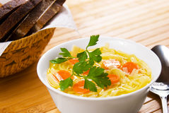 Noodle soup Royalty Free Stock Photo