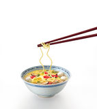 Noodle soup Stock Photography