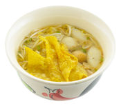Noodle Soup. And asia food Stock Images