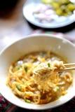 Noodle soup asian Stock Photo