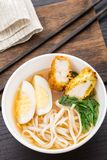 Noodle soup with chicken Royalty Free Stock Photo