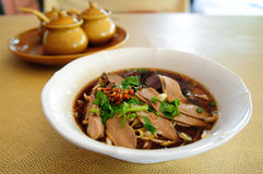 Noodle soup duck Royalty Free Stock Photos