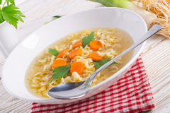 Noodle soup. A fresh and delicious Noodle soup royalty free stock image