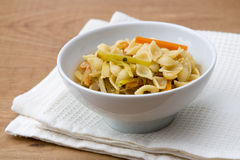 Noodle Soup with Vegetables Stock Photography