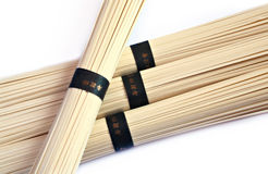 Noodle. Spaghetti Noodle on white background stock photos