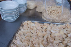 Noodle stall Royalty Free Stock Images