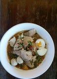 Noodle tomyum Stock Photo