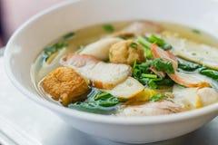 Noodle for traditonal gourmet dumpling image Stock Photos