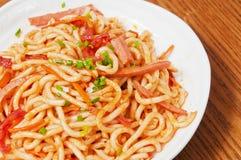 Noodle Udon Στοκ φωτογραφία με δικαίωμα ελεύθερης χρήσης