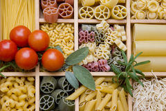 Noodle variations Stock Photo