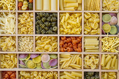 Noodle variations Stock Photography