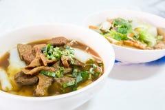 Noodle in vegan food popular manu in Nine Emperor Gods Festival ( J food ) Royalty Free Stock Photos