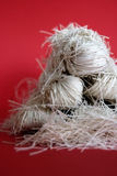 noodle vermicelli Στοκ Φωτογραφία
