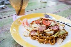 Noodle yakisoba Stock Image