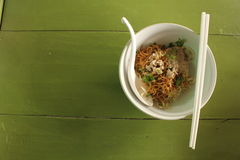 Egg Noodle dry Royalty Free Stock Photos