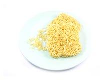 noodles ανασκόπησης λευκό στοκ φωτογραφίες