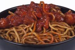 noodles Ασιάτης στοκ εικόνες