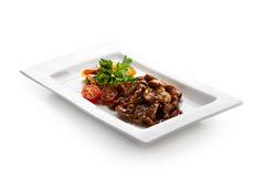 noodles βόειου κρέατος Στοκ Φωτογραφίες