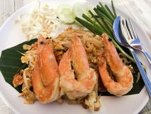 noodles γεμίζουν Ταϊλανδό στοκ εικόνα