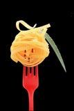 noodles δικράνων Στοκ Φωτογραφία