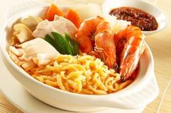 noodles θαλασσινά Στοκ Εικόνα
