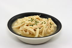 noodles κοτόπουλου Στοκ Φωτογραφίες