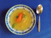 noodles κοτόπουλου σούπα Στοκ Εικόνες
