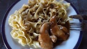 noodles κοτόπουλου Στοκ Φωτογραφία