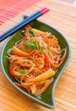 noodles λαχανικά Στοκ φωτογραφία με δικαίωμα ελεύθερης χρήσης