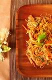 noodles λαχανικά Στοκ Εικόνες