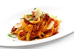noodles ντομάτα σάλτσας Στοκ φωτογραφία με δικαίωμα ελεύθερης χρήσης