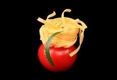 noodles ντομάτα Στοκ εικόνες με δικαίωμα ελεύθερης χρήσης