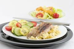 noodles οσφυϊκών χωρών χοιρινό κρέας Στοκ Εικόνες