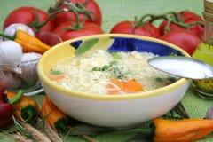 noodles σούπα Στοκ Φωτογραφία
