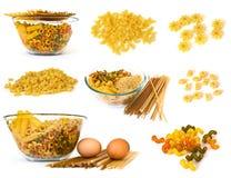 noodles συλλογής ακατέργαστ&alpha Στοκ εικόνες με δικαίωμα ελεύθερης χρήσης
