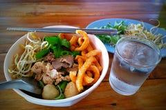 noodles Ταϊλανδός Στοκ φωτογραφία με δικαίωμα ελεύθερης χρήσης
