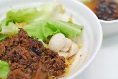 noodles ψαριών σφαιρών κινεζικός &c Στοκ φωτογραφία με δικαίωμα ελεύθερης χρήσης