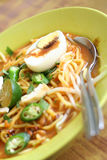 Noodles. Malay style noodles Stock Images