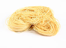 Noodles. On a white background Royalty Free Stock Images