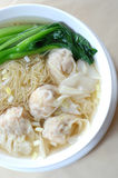 Noodles. Chinese noodles on the table royalty free stock photo