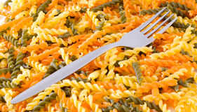 Noodles. / delicious, dinner, dish, farinaceous Stock Photos