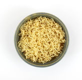 Noodles in bowl Royalty Free Stock Images