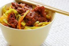 noodles chińskich zdjęcie royalty free