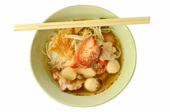 Noodles chinese style Royalty Free Stock Images