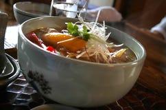 noodles currych Zdjęcia Royalty Free